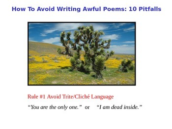 Avoiding Bad Poetry
