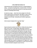 Avoiding Cliches in Paragraph and Essay Writing
