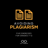 Avoiding Plagiarism: A Mini-Unit