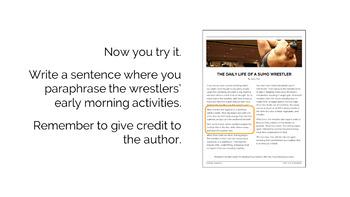 Avoiding Plagiarism: A Mini-Unit