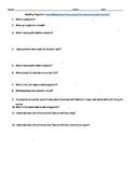 Avoiding Plagiarism Worksheet