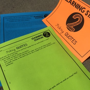 Avoiding Plagiarism in Social Studies Doodle Notes and Stations