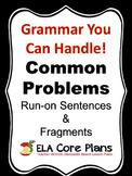 Avoiding Sentence Fragments and Run-On Sentences