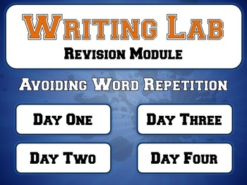 Avoiding Word Repetition - Writing Lab Revision Module