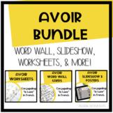 Avoir Bundle: Worksheets, Slideshow, Word Wall Cards, Oral