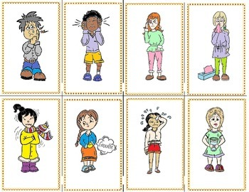 Game Avoir Expressions Card Game French I, II and III