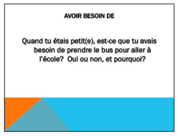 Avoir Expressions Task Cards - Advanced French Level - Cartes à Tâches