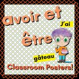 Avoir and être posters (11 x 17)