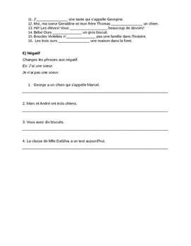 Avoir au Present- Quiz (Beginners)