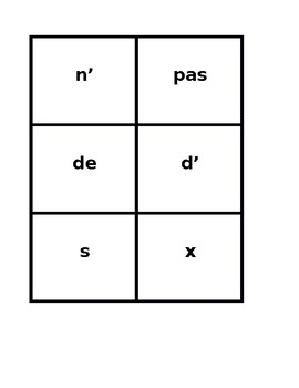 Avoir et Fournitures scolaires (School objects in French) Game