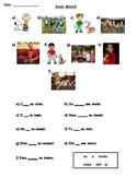 Avoir match worksheet 1