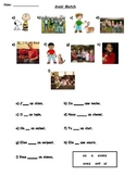 Avoir match worksheet 1