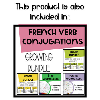 """Avoir - """"to have"""" - Slideshow and Posters for Teaching and Review"""
