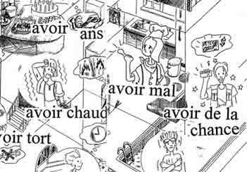 Avoir use in the past tense