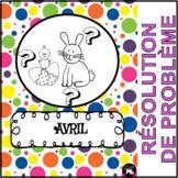 Avril: Mon cahier de résolution de problèmes