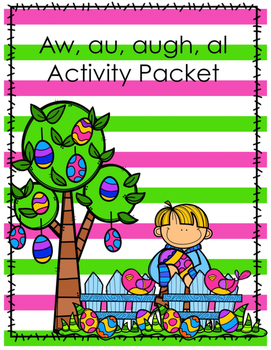 Aw, al, aw, augh Activity Pack