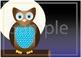 Awake and Asleep Owl Poster