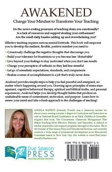 Awakened: Change Your Mindset to Transform Your Teaching (eBook)