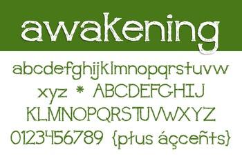 Awakening Font for Commercial Use