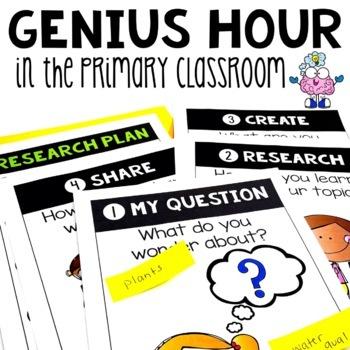 Genius Hour - Awaking the Genius in Your Primary Classroom