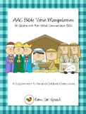 AWANA Cubbies: AAC Bible Verse Manipulatives for Non-Verbal Communicators