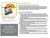 Awana Ministry Outreach Flyer