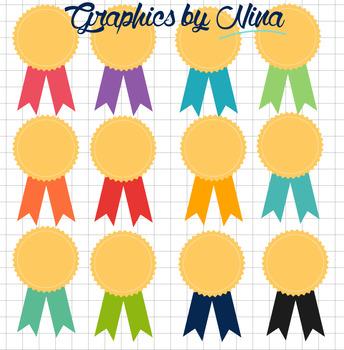 Award Badges Clipart