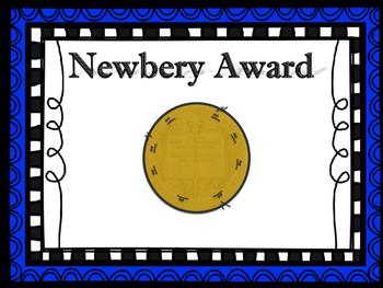 Award Book Display Signs