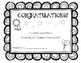 Award Certificate for Learning Letter Names and Sounds