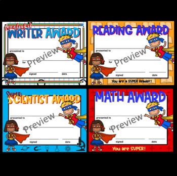 Award Certificates BUNDLE