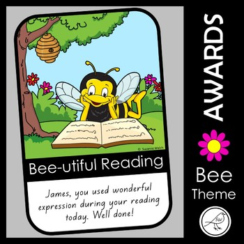 Award Certificates – Bee Theme