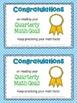 Award Certificates FREEBIE