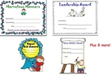 Award Certificates Pack- Elementary