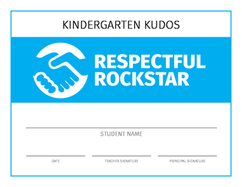 Award Certificates Set