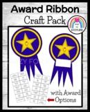 Award Ribbon Craft (End of School Year, Summer)