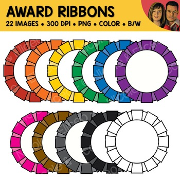 Award Ribbons Clipart