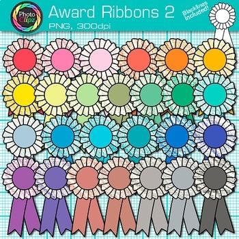 Award Ribbons Clip Art 2 - International Games, Field Day,