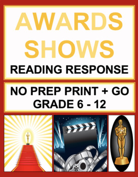 Award Show, Movie, Celebrity Reading Comprehension Passages and Questions
