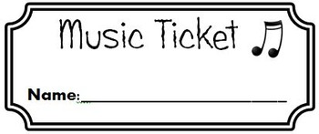 Award Tickets/Reward Slips (Universal; Editable)