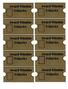 Award Winning Behavior