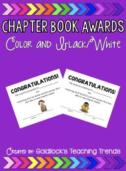 Award for Chapter Books