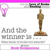 Award-winning Books Read Report Post Recommendation