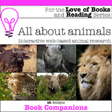 Animal Research Activities and Report for home, classroom & distance learning