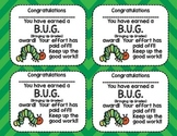 B.U.G. (Bringing Up Grades) Award