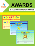 23 Different Awards for every Subject, Elementary, Middle School and High School