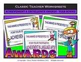 Awards-Awards Day-Achievement & Excellence Awards-Year Round Superhero Clip Art
