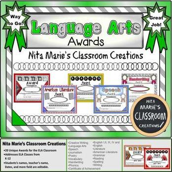 Language Arts Awards