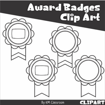 Award Ribons Badges Clip Art