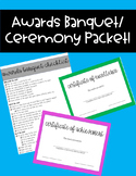 Awards Banquet/Ceremony Packet
