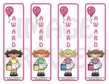 Awards: Birthday Party Girls